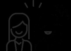 アイコン:サービスの基本は笑顔